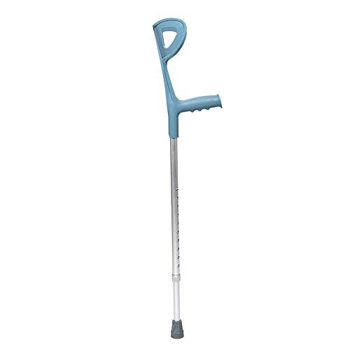 XUEYIMENG Bastones Ligeros para Caminar Hight Quality Walking Aid Muleta de antebrazo para Acampar Senderismo Deporte al Aire Libre Herramienta de Plata,1PC
