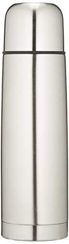 GRÄWE Isolierflasche aus Edelstahl, 0,5 Liter Trinkflasche, Vakuum-Isolierte Thermoflasche mit Becher und Drehverschluss, auslaufsicher, spülmaschinenfest - 500 ml