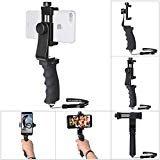 Stabilisateur Smartphone Universel, Poignée pour iPhone Rig/Grip, Stabilisateur...