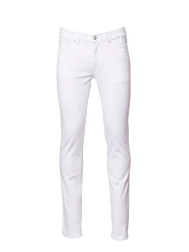 ACNE STUDIOS Herren 30Y134133length32 Weiss Baumwolle Jeans