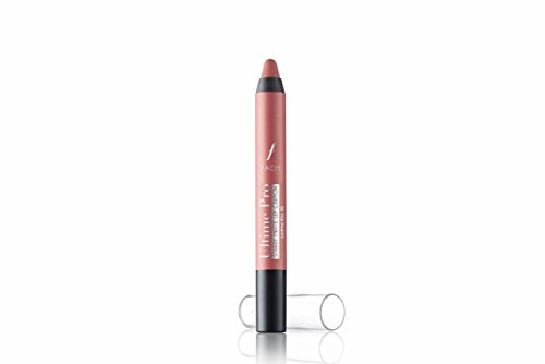 Faces Ultime Pro Starry Matte Lip Crayon, Lasting Kiss 06, 2.8g with Free Sharpener