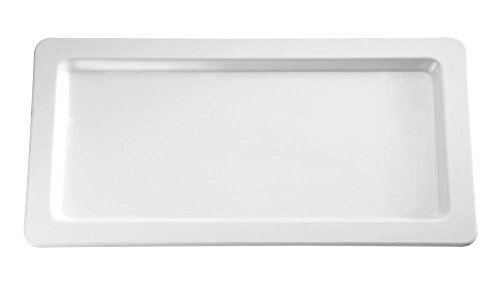 APS gd100 rectangulaire Buffet Plateau, 1/1 GN, blanc