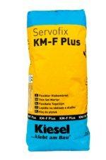 """""""Servofix KM-F Plus"""" flexibler Dünnbettmörtel, max. 5 mm Auftragsstärke, Fliesenkleber Klebemörtel grau (1 Sack 25 kg)"""