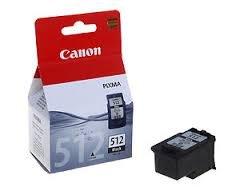 Preisvergleich Produktbild Original Tinte passend für Canon Pixma MP 270 Canon PG512, PG-512 2969B001, 2969B001AA, PG512BK - Premium Drucker-Patrone - Schwarz - 401 Seiten - 15 ml