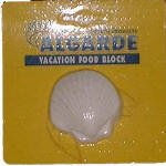 Algarde Holiday Vacation Fish Food Block from Algarde