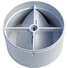 Extractor de aire rejilla de ventilación 100mm válvula antirretorno transmisión trasera con un primavera y dos solapas