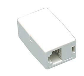 adsl Koppler - Premium-Qualität / RJ11 / Buchse auf Buchse / Schreiner / Erweiterung / Extender / Adapter -