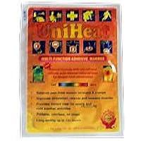 Uniheat Self Adhesive Pain Relief Warmer Heat Pack x10