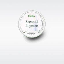 """Rezept-Chip \""""Secondi Piatti di Pesce\"""" für Thermomix TM5 Original Vorwerk (italienische Version)"""