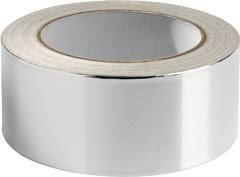 Aluminiumband 50m x 50mm Alu Klebeband reines Aluminium DIN 4102 - B1