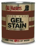 Old Masters 80708 Gel Stain Pint, Dark Walnut by Old Masters