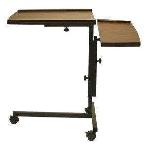 Laptop-schreibtisch-caddy (Asia Direct Verstellbarer Laptop Notebook Caddy Schreibtisch Schreibtisch in Espresso)