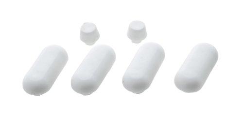 wenko-298309100-silenciadores-de-plastico-para-asientos-de-inodoro-6-unidades-7-x-145-x-10-cm-color-