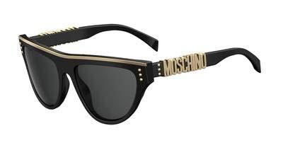 Moschino Mos002/S-807-56 Damen Sonnenbrille, Schwarz, 56
