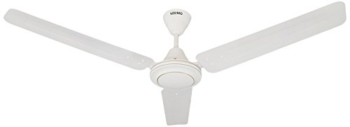 Amazon Brand - Solimo Swirl 1200mm Ceiling Fan (White)