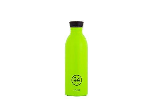 24Bottles Edelstahl Trinkflaschen hellgrün