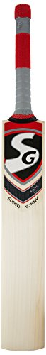 SG Sunny Tonny English Willow Cricket Bat, Size 6 (Color May Vary)