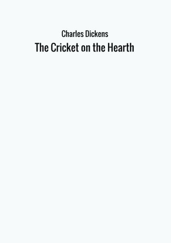 Book cover for The Cricket on the Hearth
