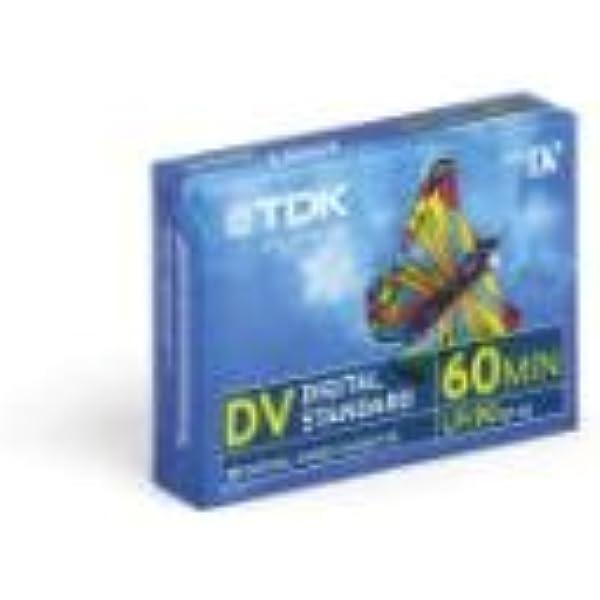 Tdk Dvm 60 Minidv Videokassette Für Camcorder 1 Stück Kamera