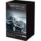 Areon Car Platinum Perfume - Ambientador de lujo para coche, 50 ml