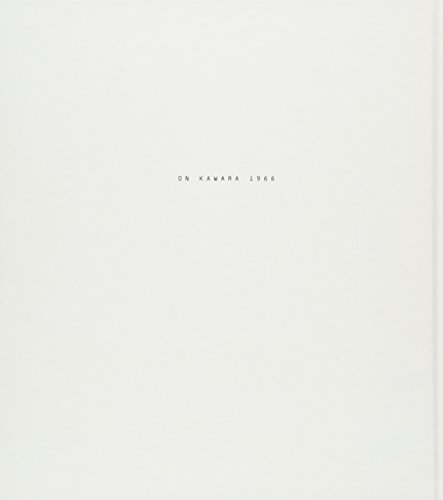 On Kawara : 1966 par Angela Choon