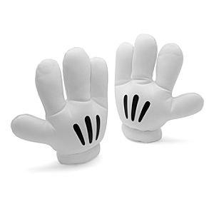 Disneyland Paris Artikel Micky Maus - Handschuhe in weiß