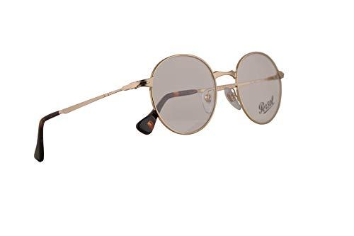 Persol PO2451V Brillen 49-20-145 Gold Mit Demonstrationsgläsern 1076 PO 2451V PO 2451-V PO2451-V