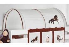 Túnel - Caballos marron