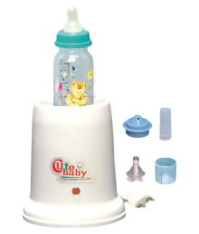 CHEESY CHEEKS Little Baby's 4 In 1 Electric Bottle Warmer and Steriliser