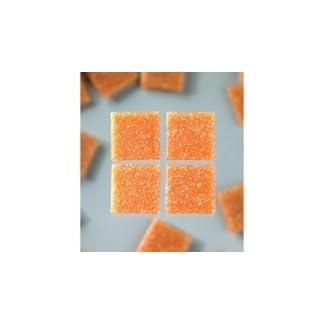 efco MosaixPro-Bloques de Vidrio, 10 x 10 mm, 200 G~302 pcs Brillante Colour Terracota