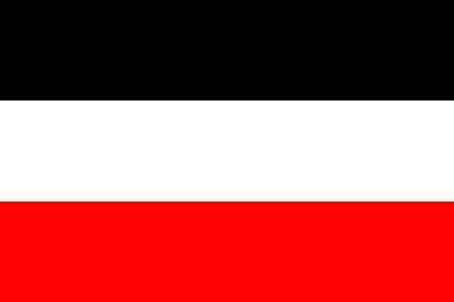 MM Drapeau Empire Allemand/drapeau, résistant aux intempéries, multicolore, 250 x 150 x 1 cm, 16296