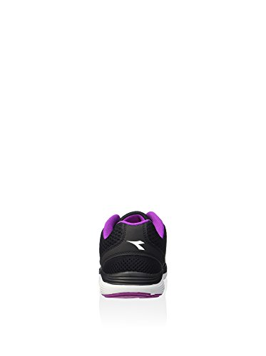 Diadora Swan, Entraînement de course mixte adulte Nero / Viola Bouquet