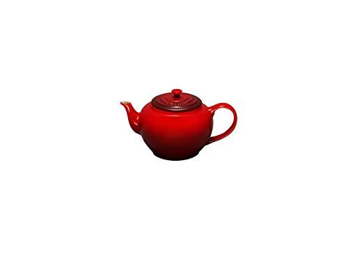 Le Creuset 9101001306 - Tetera de gres (1,3 L), Rojo (Cereza)