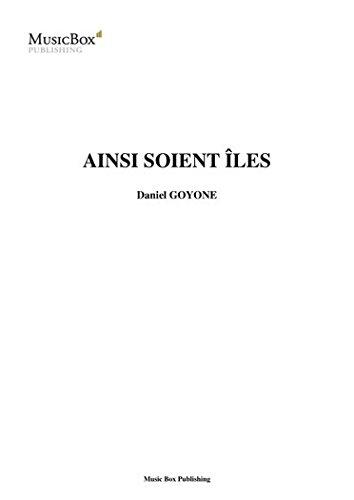 AINSI SOIENT LES