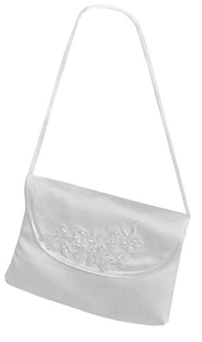 YES Kommuniontasche Tasche Umhängetasche Kommunion Blumenmädchen Täschchen Claudia