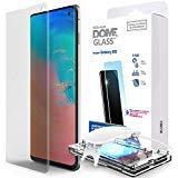 Samsung Galaxy S10 Protecteur d'écran de Téléphone, [Dome Glass] Bord Incurvé...