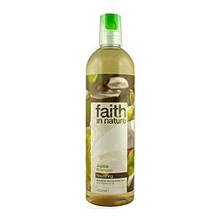 6 Pack of Faith in Nature Jojoba Shampoo 400 ML