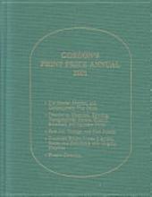 Gordon's Print Price 2001 (Gordon's Print Price Annual)