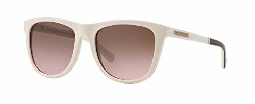 Michael Kors Damen Sonnenbrille MK6009 Algarve, Weiß (Oak White Black 301214), One size (Herstellergröße: 54)