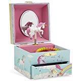 Jewelkeeper - Caja Infantil de Música con Unicornio y Arco Iris, Equipada de Cajón Extraíble - Melodía The Unicorn