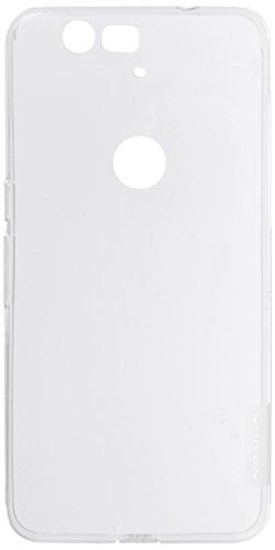 Nillkin Nature – Carcasa trasera protectora antideslizante de gel TPU para Huawei Nexus 6P (Google), Transparente