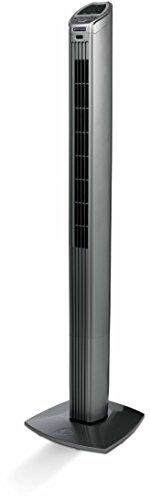 Bionaire BT150R-049 40-Watt Slim Tower Fan (Black and Silver)