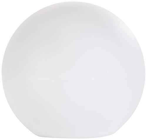 greemotion Leuchtball LED mit Akku weiß, Gartenkugel aus hochwertigem Kunststoff, wiederaufladbare LED-Gartenbeleuchtung, eignet sich für innen- und Außenbereiche, auch als Schwimmdeko im Pool/Teich