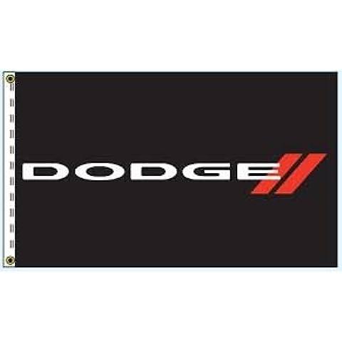 BANDIERA DODGE RAM 150cm x 75cm Charger Dakota Grand Caravan Dart
