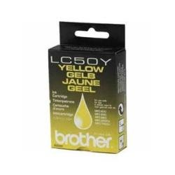 Brother LC50 Cartouche d'encre d'origine 1 x jaune 410 pages