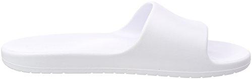adidas Aqualette W, Chaussures de Plage et Piscine Femme Blanc (Ftwr Wht/core Black/ftwr Wht)
