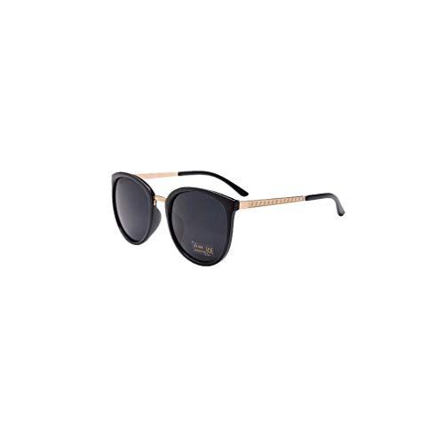 Mode Polarisierte Katzenaugen Sonnenbrille for Damen UV400 reflektierenden Spiegel, Bluelucon Herren Flieger Metallrahmen Verspiegelt Linse Unisex Piloten Sonnenbrille