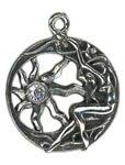 Brigits Sun Charm for Inner Light Amulet Talisman Pendant