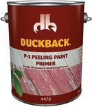 DUCKBACK PRODUCTS SC-4475-4 P-3 Peeling Paint Exterior Primer by DUCKBACK PRODUCTS -