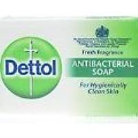 Jabón antibacteriano Dettol, 100 g (6 unidades)